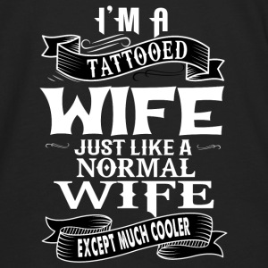 TATTOOED WIFE T-Shirts - Men's Premium Long Sleeve T-Shirt