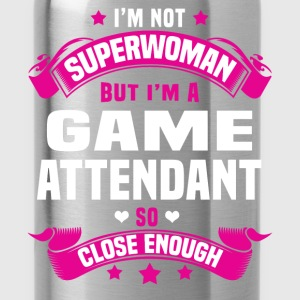 Game Attendant T-Shirts - Water Bottle