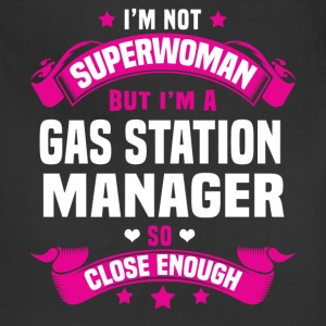 Gas Station Manager T-Shirts - Adjustable Apron