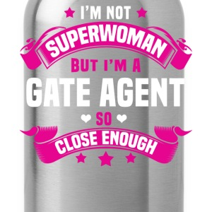 Gate Agent T-Shirts - Water Bottle