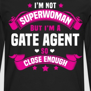 Gate Agent T-Shirts - Men's Premium Long Sleeve T-Shirt
