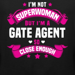 Gate Agent T-Shirts - Men's Premium Tank
