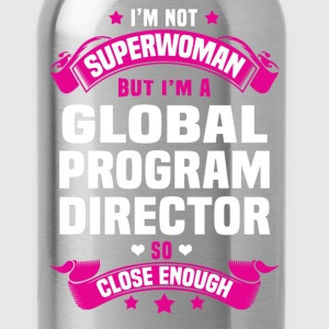 Global Program Director T-Shirts - Water Bottle