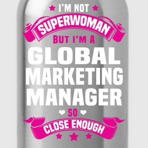 Global Marketing Manager T-Shirts - Water Bottle