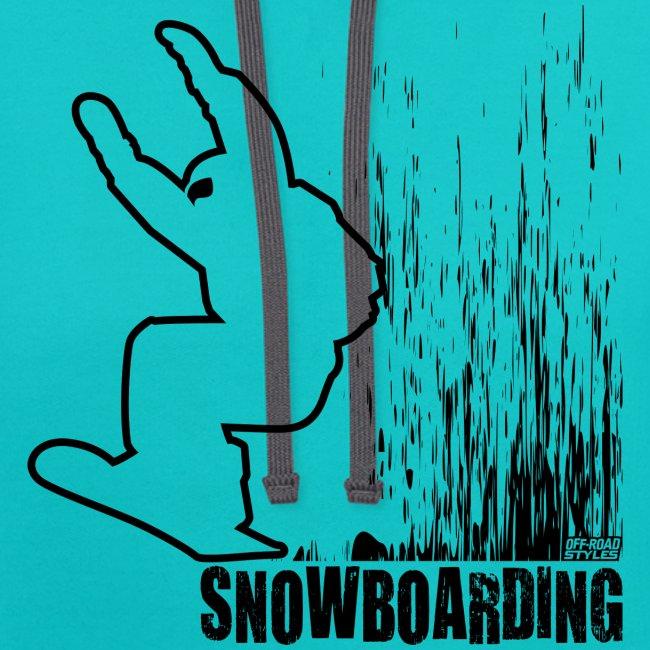 Snowboarder Snowboarding