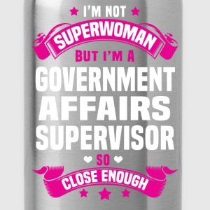 Government Affairs Supervisor T-Shirts - Water Bottle