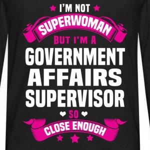 Government Affairs Supervisor T-Shirts - Men's Premium Long Sleeve T-Shirt