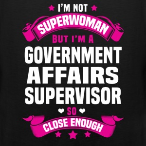 Government Affairs Supervisor T-Shirts - Men's Premium Tank