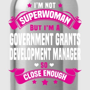 Government Grants Development Manager T-Shirts - Water Bottle