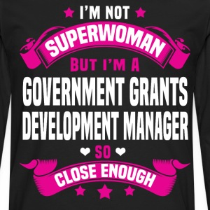 Government Grants Development Manager T-Shirts - Men's Premium Long Sleeve T-Shirt