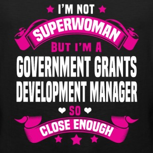 Government Grants Development Manager T-Shirts - Men's Premium Tank