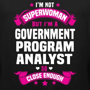 Government Program Analyst T-Shirts - Men's Premium Tank