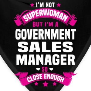 Government Sales Manager T-Shirts - Bandana