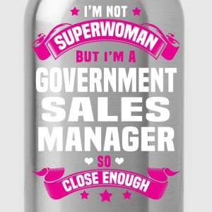 Government Sales Manager T-Shirts - Water Bottle