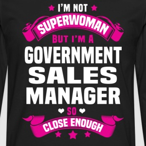 Government Sales Manager T-Shirts - Men's Premium Long Sleeve T-Shirt