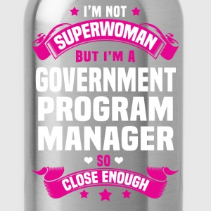 Government Program Manager T-Shirts - Water Bottle