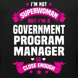 Government Program Manager T-Shirts - Men's Premium Tank