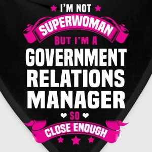 Government Relations Manager T-Shirts - Bandana