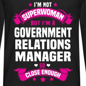 Government Relations Manager T-Shirts - Men's Premium Long Sleeve T-Shirt