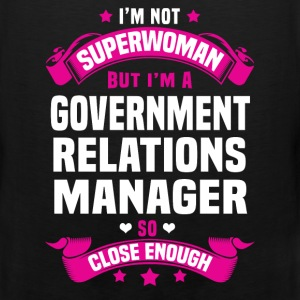 Government Relations Manager T-Shirts - Men's Premium Tank