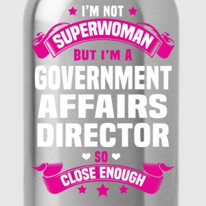 Government Affairs Director T-Shirts - Water Bottle