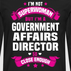 Government Affairs Director T-Shirts - Men's Premium Long Sleeve T-Shirt