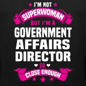 Government Affairs Director T-Shirts - Men's Premium Tank
