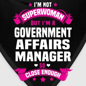 Government Affairs Manager T-Shirts - Bandana