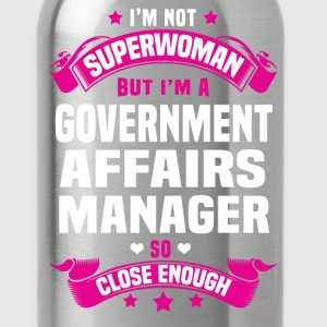 Government Affairs Manager T-Shirts - Water Bottle