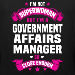 Government Affairs Manager T-Shirts - Men's Premium Tank