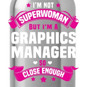 Graphics Manager T-Shirts - Water Bottle