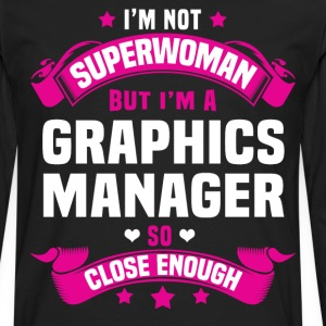 Graphics Manager T-Shirts - Men's Premium Long Sleeve T-Shirt