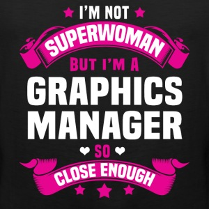 Graphics Manager T-Shirts - Men's Premium Tank