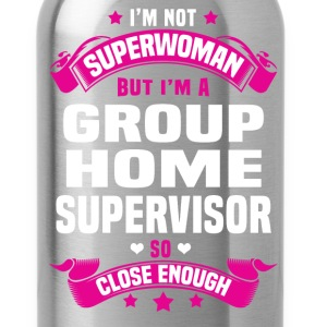 Group Home Supervisor T-Shirts - Water Bottle