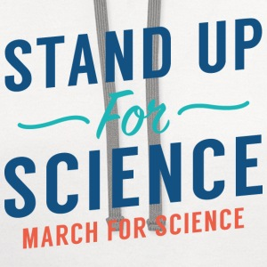 Stand Up For Science - Contrast Hoodie