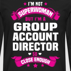 Group Account Director T-Shirts - Men's Premium Long Sleeve T-Shirt