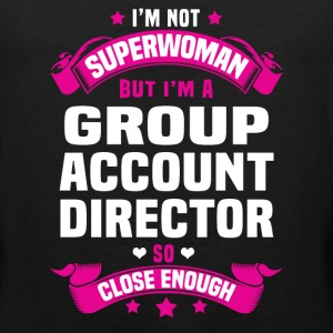 Group Account Director T-Shirts - Men's Premium Tank