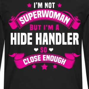 Hide Handler T-Shirts - Men's Premium Long Sleeve T-Shirt