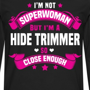 Hide Trimmer T-Shirts - Men's Premium Long Sleeve T-Shirt