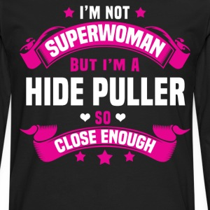 Hide Puller T-Shirts - Men's Premium Long Sleeve T-Shirt