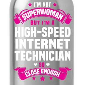 High-Speed Internet Technician T-Shirts - Water Bottle