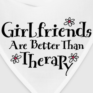 Girlfriends Are Therapy T-Shirts - Bandana