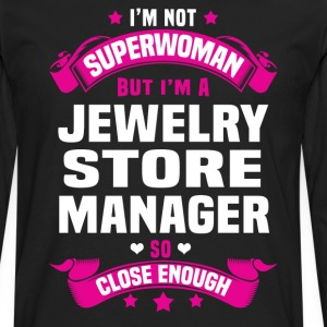 Jewelry Store Manager T-Shirts - Men's Premium Long Sleeve T-Shirt