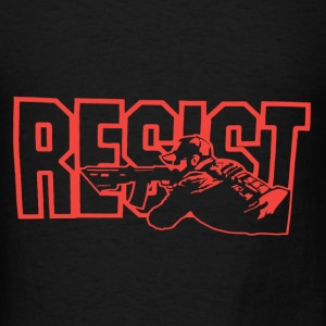 Resist Red Sniper - Men's T-Shirt