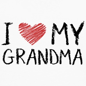 I Love My Grandma Baby Bodysuits - Men's Premium Long Sleeve T-Shirt