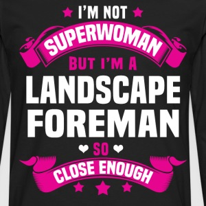 Landscape Foreman T-Shirts - Men's Premium Long Sleeve T-Shirt