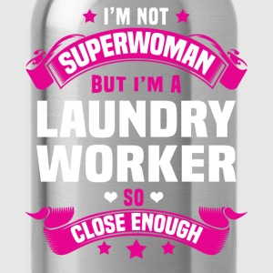Laundry Worker T-Shirts - Water Bottle