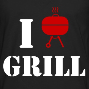 grill 2.png T-Shirts - Men's Premium Long Sleeve T-Shirt