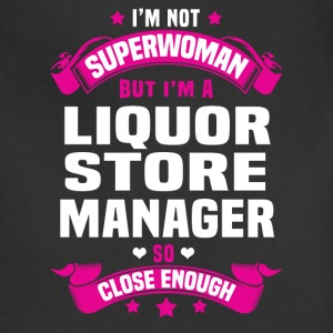 Liquor Store Manager T-Shirts - Adjustable Apron