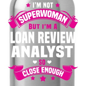 Loan Review Analyst T-Shirts - Water Bottle